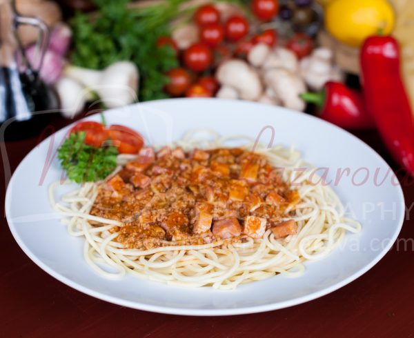 спагети Болонезе в Русе