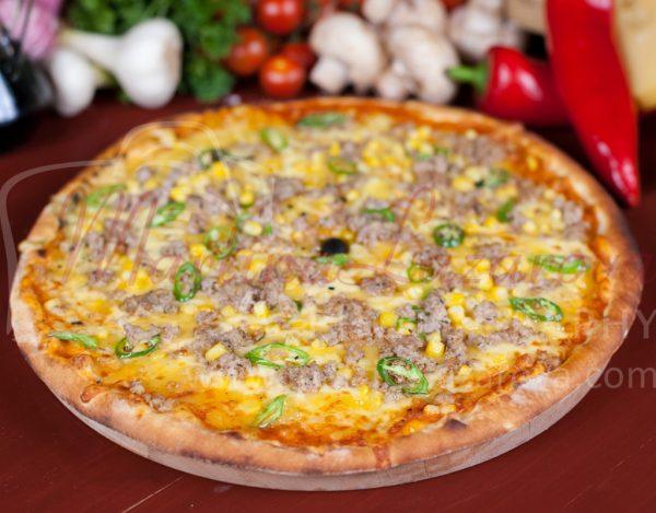 Пица с люти чушки в Русе